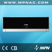 Popular fast cooling and heating black air conditioner