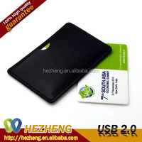 Full Name Printed 32GB Credit Card USB Drive
