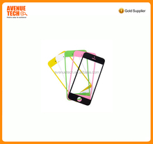 OEM factoryWholesale Black White Front Glass Lens Touch Screen Digitizer For iPhone 5 phone outer screen glass manufacturer