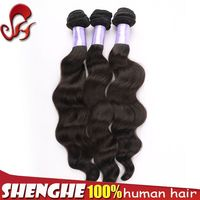 List of hair weave 2015 new arrival hot sell peruvian loose wave natural color wholesale virgin hair vendors
