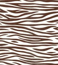 2015 New fashion Zebra PVC Leather