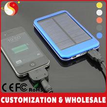 Green Energy Good Quality 5000mah Solar Panel Power Bank Smart Phones