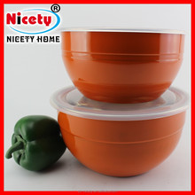 Wholesale stainless steel keep food fresh container / fresh bowl / lunch box with lid
