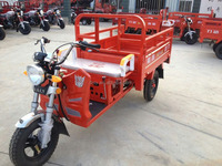 SY110ZH-D 110CC China new style hot sale fashionable cargo tricycle with front shape like scooter