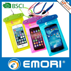 New product on market mobile phone pvc waterproof bag