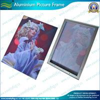 Adjustable Moving Aluminium Picture Frame display