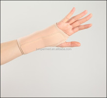 Breathable neoprene wrist and palm splint with adjustable velcro