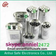 motor de corriente alterna y ejecutar 40 mfd x 370 voltios ronda de capacitor de arranque del fabricante