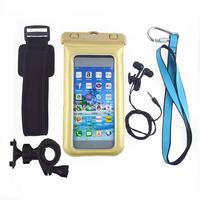 waterproof cell phone case bag/waterproof floating fashion cell phone bag/ waterproof cell phone case for htc