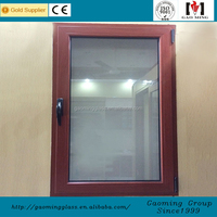 Gaoming window for mobile home, hung,arched,fixed aluminium window manufacturer