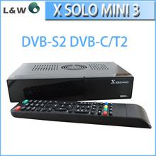 Fully integrated LNA,Tuner,DVB-T2 & DVB-T & DVB-C demodulators full hd New DVB T2 decoder X solo mini 3