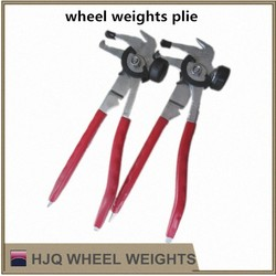 wheel weights plier, tire repair tool