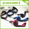2015 popular denim fabric nylon dog collar black dog running leash guangzhou pet dog accessories