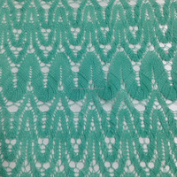 100 Polyester Lace style Hacci Knitting Fabric