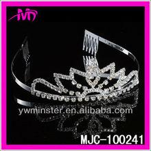 Bridal Wedding Sparkling Tiara with Austrian Crystal MJC-100241