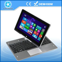 Factory Outlet 11.6 inch 360 Degree laptop Intel Celeron 1037U Dual Core 4GB RAM and 500GB HDD Touch Screen Windows 8 laptop