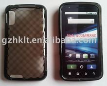 Diamond style Atrix 4G MB860 TPU Skin Gel case Soft case Mobile phone case for Motorola