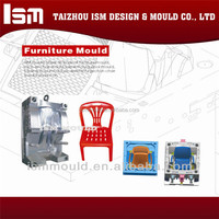 Alibaba suppliers factory support fashion designer chair injection plastic mould