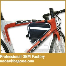 Fits Most Road and Mountain Bikes bike top tube bag Best Bicycle Frame Bag
