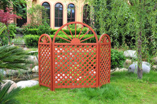 ALS-3109 WOODEN TRELLIS, GARDEN LATTICE, WOODEN AIR CONDITIONER COVER