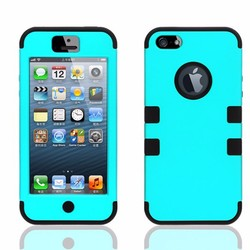 PC design your own silicone phone cover combo phone case for iphone 5s