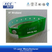Printable 125KHz RFID Wristband for access control system