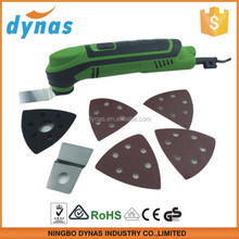 The electric multi cutting tools with 6 speed control with 7pcs accessory