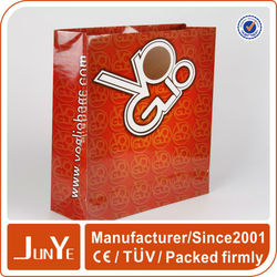 Paper bag OEM top quality hot sale die cut paper shopping bag price
