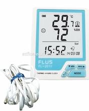 Orologio digitale igrometro termometro sensore della temperatura misuratore di umidità fl-201w teoria