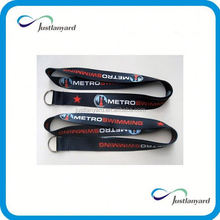 Customized hot sale mickey mouse and donald duck logo lanyard