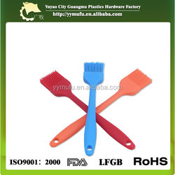 Silicone Pastry Brush Orange By Big Bang Cooking - the Perfect Baster or Basting Olive Oil, Butter, BBQ Sauce, Honey