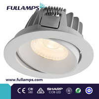 CRI>90 led spot light external driver 10W dimmable and adjustable, Color temperature changeable