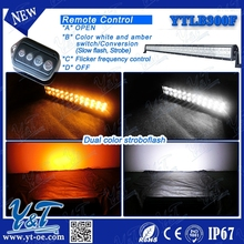 motorcycle parts wholesale high power led fog light 2015 popular high class IP67double row light bar