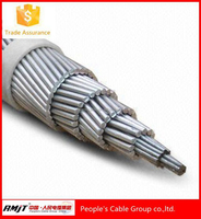 ASTM B232 aluminum wire conductor steel strand 605mcm ACSR Peacock