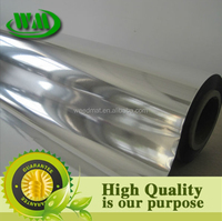 silver color reflective metalized cpp film
