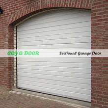 Luxury Automatic Garage Doors/Galvanized Steel Garage Door PU foam Insulation/Best Quality Sectionl Garage Door Made in China
