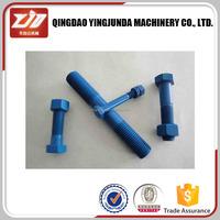 standard size thru bolt and nut