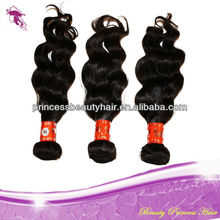 wholesale 5a top human virgin remy Indian hair extension loose wave best selling products no shedding