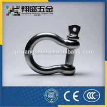 China Bow Shackle With Screw Pin