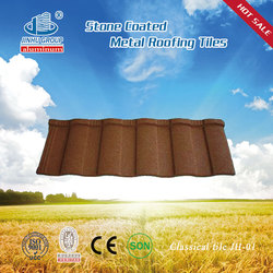 Docherich High quality colorful stone coated metal steel roof tile in Nigeria