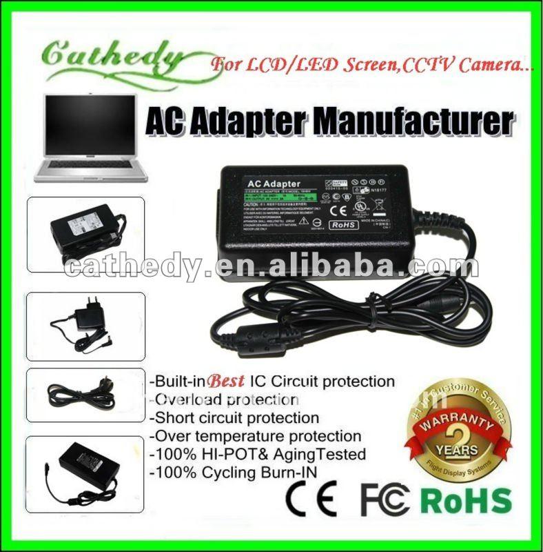 12 V AC / DC adaptador de corriente para Seagate de escritorio externo HDD WA-24C12U