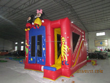 Inflatable ocean combo with bouncer slide inflatable kids ocean amusing combo