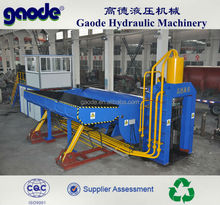 Excellent Automatic metal scrap car baler machinery in worldwild market HBS-5000