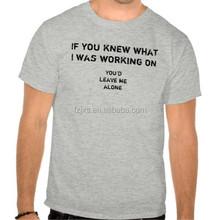 High Quality Custom Hemp T-shirt