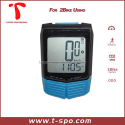 Hot selling wireless cycle compuer bicycle compuer witout cable waterproof cycle speedometer computer