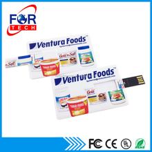 Factory Price Custom Logo 8GB Credit Card USB Flash Driver