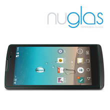 Nuglas antishock screen protector for LG leon with best quality