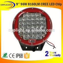 led round work light waterproof 9 inch round work light led light bar truck