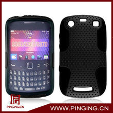 Mesh combo case net shell silicone case for Blackberry 9350 9360 9370