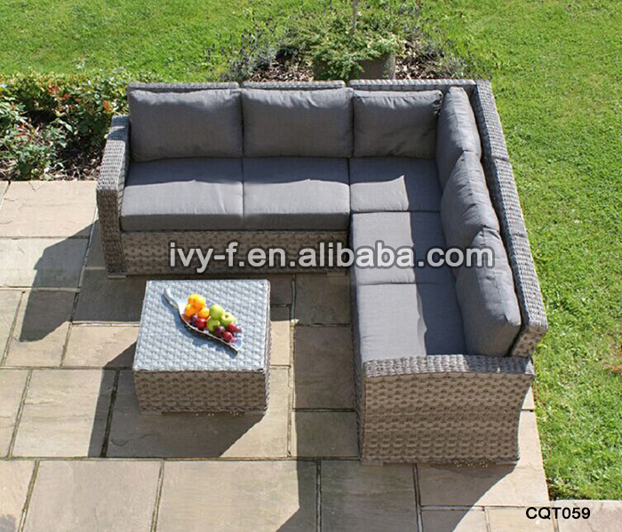 Matara Corner Sofa Dining And Garden Furniture Set: Resort Patio Rattan Modern L-shape Sofa/terrace Sofa Set